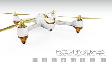 dron Hubsan H501s