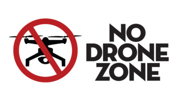 dron na dovolené