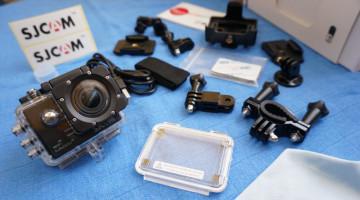 Sada příslušenství k akčním kamerám ve slevě