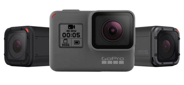 GoPro Hero 5 Black a Session