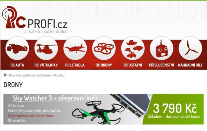 0d33566ce Proč RC modely od RCprofi.cz? - Drony-kamery.cz