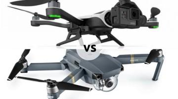 GoPro Karma vs. DJI Mavic Pro