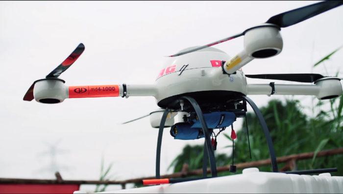 MD4-1000 - Budou drony zachraňovat tonoucí?