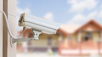 bezpečnostní kamerou