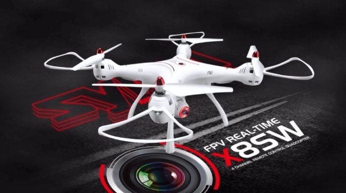 Syma X8SW nej drony do 150 dolarů