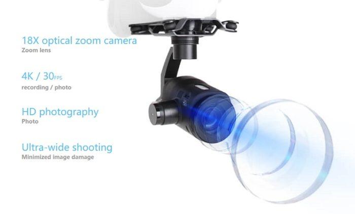 Walkera Voyager 4 Kamera