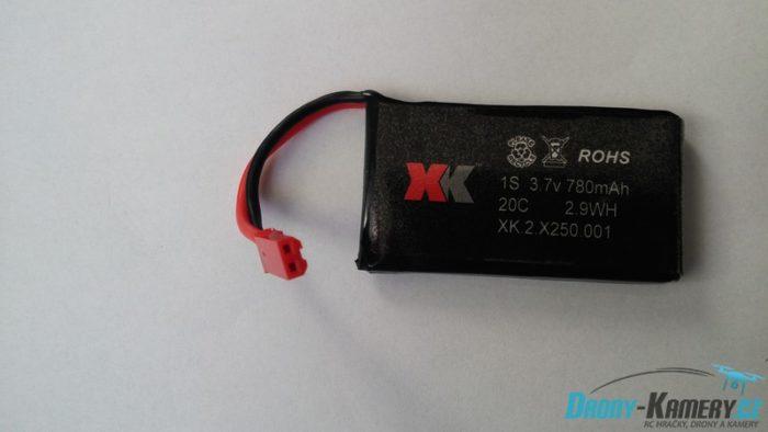 XK Alien X250 aku 1