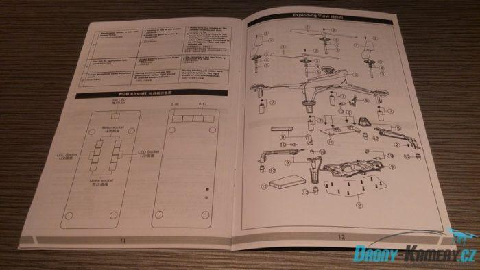 XK Alien X250 manual otevřený
