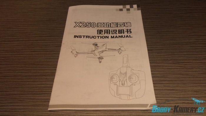 XK Alien X250 manuál