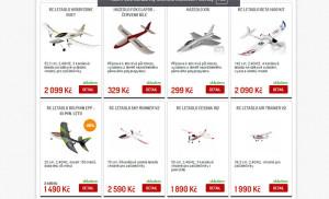 výprodej RC letadel
