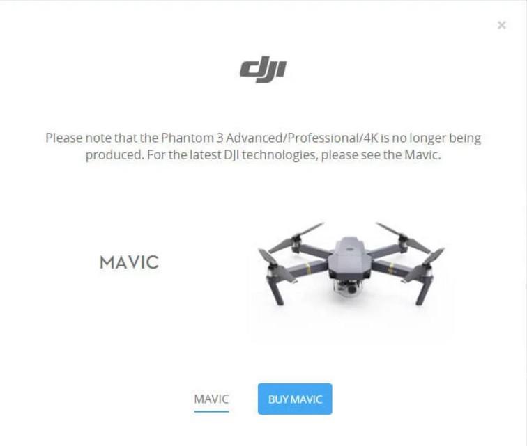 DJI P3 ADV PRO 4K Mavic