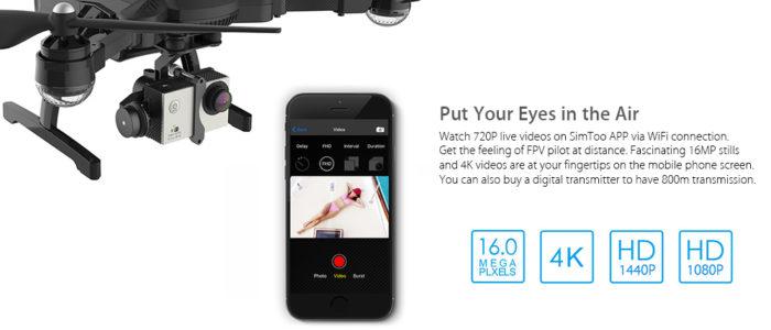 Simtoo Dragonfly Pro kamera