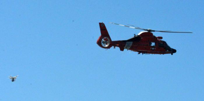 Helikoptéra vs. dron