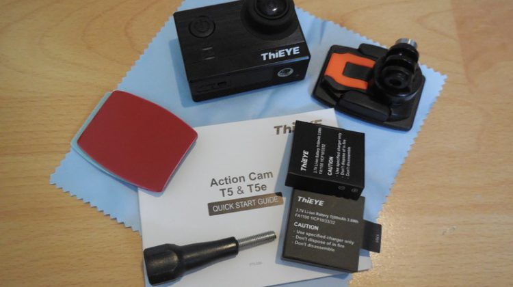 Unboxing ThiEye T5e