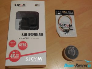 Unboxing SJCAM SJ6 Legend Air