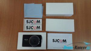 unboxing SJCAM SJdash