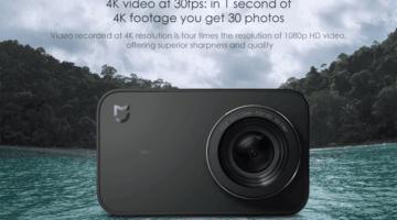 akční kamerky - Xiaomi Mijia Mini 4K