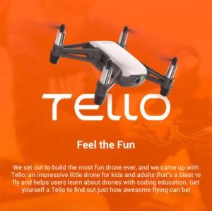 DJI Tello - ryzetech Tello