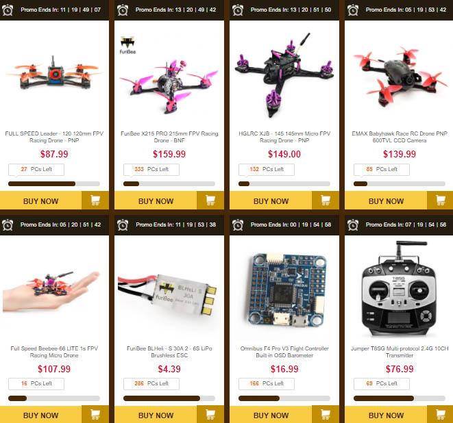 výprodej dronů
