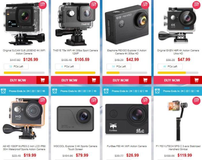 outdoorovými kamerami - sleva