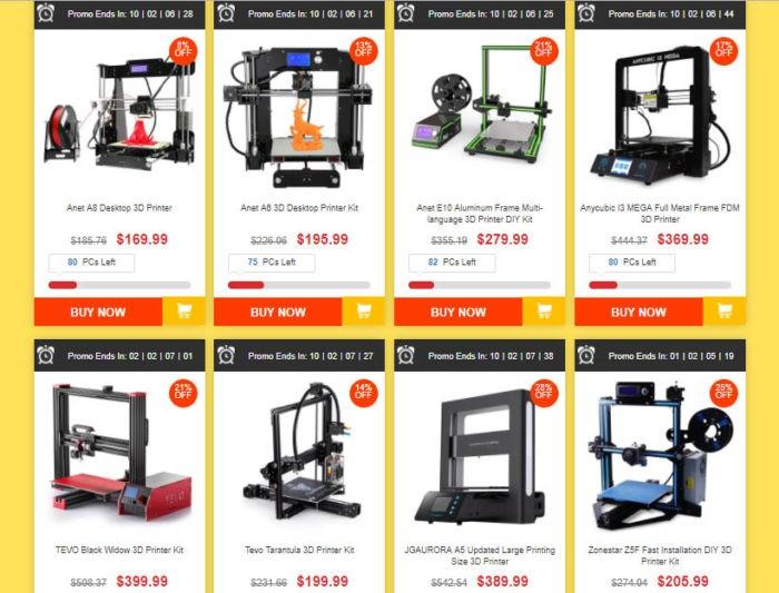 kupte si vlastní 3D tiskárnu