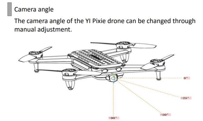 Yi Pixie Drone kamera