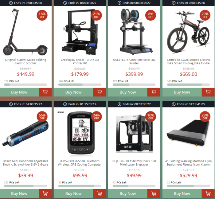 výprodej 3D tiskáren