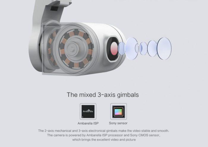 Xiaomi FIMI A3 - kamera