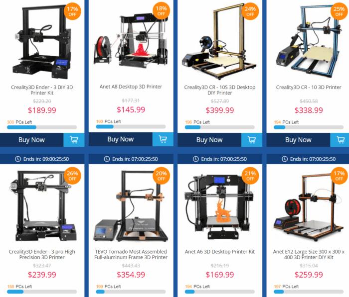 výprodej - 3D tiskárny