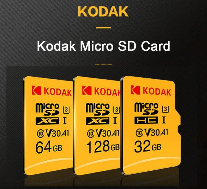 paměťové karty Kodak - sleva