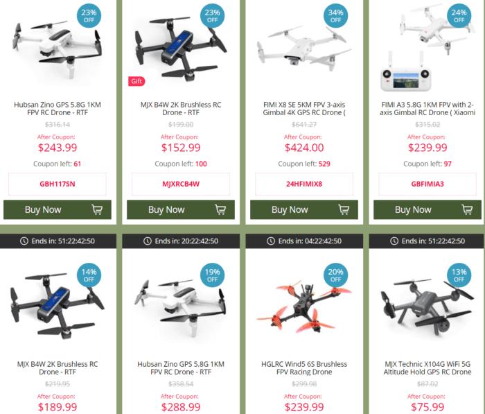 výprodej RC letadel a dronů