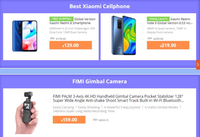 výprodej Xiaomi